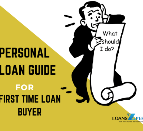 First Time personal loan Buyers guide
